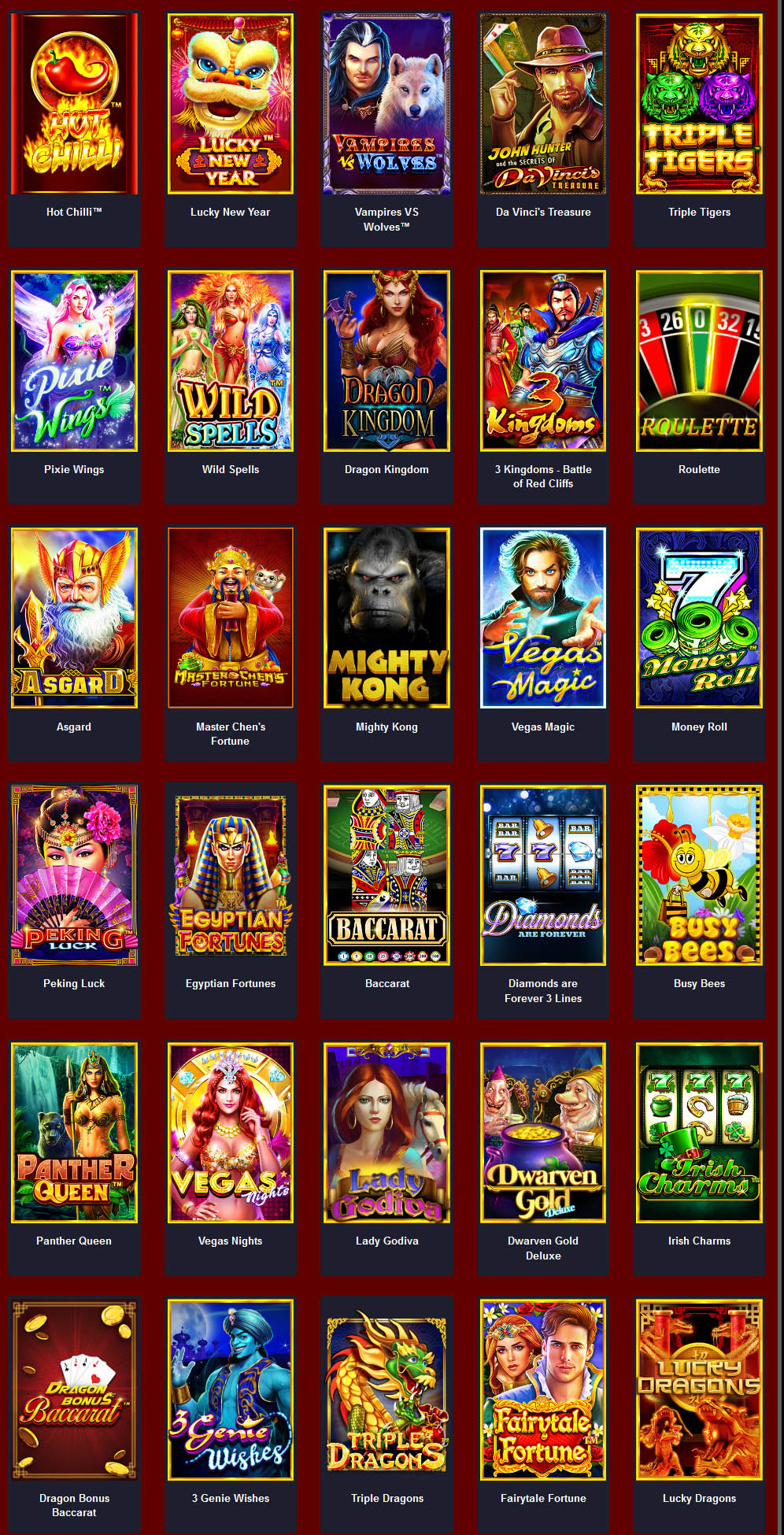 สล็อต pragmatic play slot online list 5